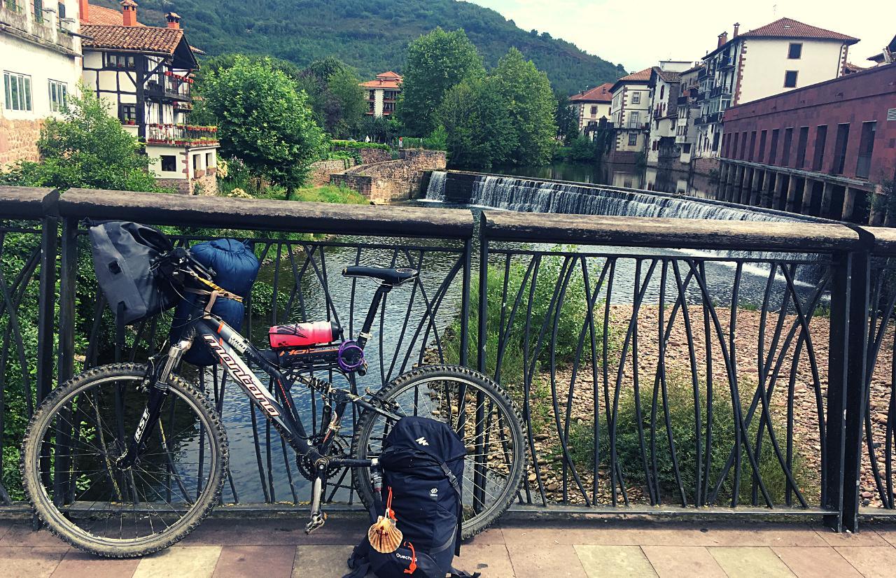 Camino de Santiago del Baztan en bici