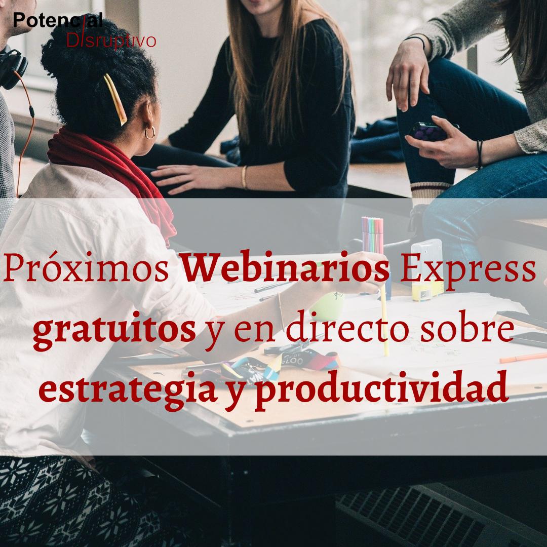 Weibinar estrategia y productividad